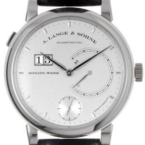A. Lange & Söhne Lange 31 130.025 Kello Hopea / Nahka