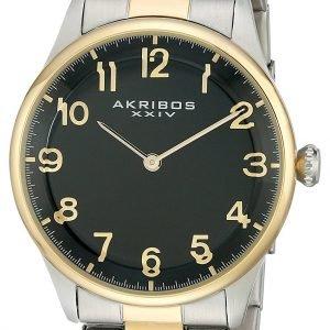 Akribos Xxiv Ak787ttg Kello Musta / Kullansävytetty