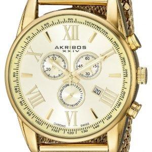 Akribos Xxiv Chronograph Ak813yg Kello