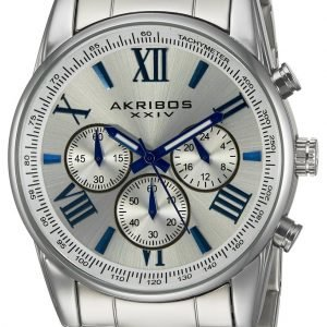 Akribos Xxiv Chronograph Ak865ss Kello Hopea / Teräs