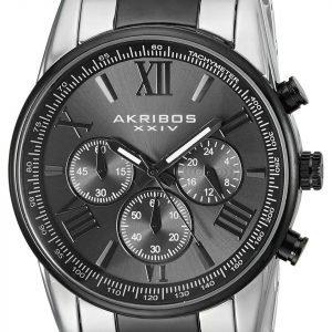 Akribos Xxiv Chronograph Ak865ttb Kello Musta / Teräs