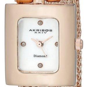 Akribos Xxiv Diamond Ak510rg Kello