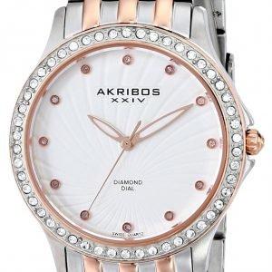Akribos Xxiv Diamond Ak620tt Kello