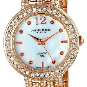Akribos Xxiv Diamond Ak757rg Kello