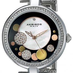Akribos Xxiv Diamond Ak881ssb Kello Monivärinen / Teräs