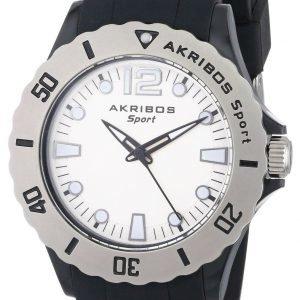 Akribos Xxiv Essential Ak536bk Kello Valkoinen / Kumi