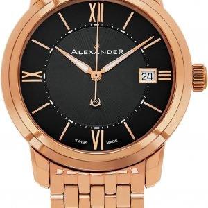 Alexander Heroic A111b-07 Kello Musta / Punakultasävyinen