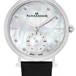 Alexander Monarch A201-01 Kello Valkoinen / Satiini
