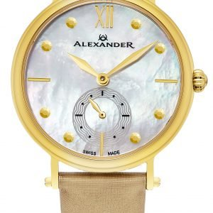 Alexander Monarch A201-02 Kello Valkoinen / Satiini