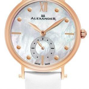 Alexander Monarch A201-03 Kello Valkoinen / Satiini
