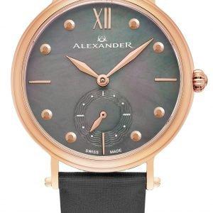 Alexander Monarch A201-04 Kello Musta / Satiini