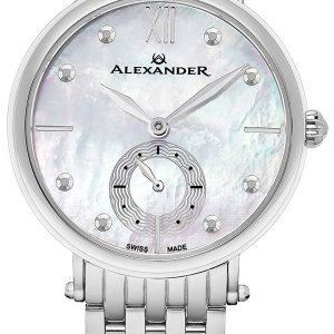 Alexander Monarch A201b-01 Kello Hopea / Teräs