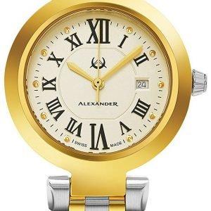 Alexander Monarch A203b-02 Kello Samppanja / Kullansävytetty