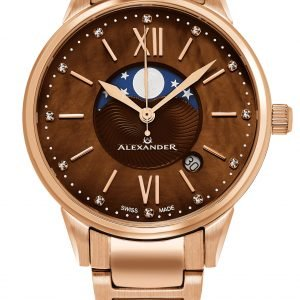 Alexander Monarch Ad204b-06 Kello Ruskea / Punakultasävyinen