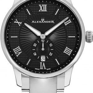 Alexander Statesman A102b-02 Kello Musta / Teräs