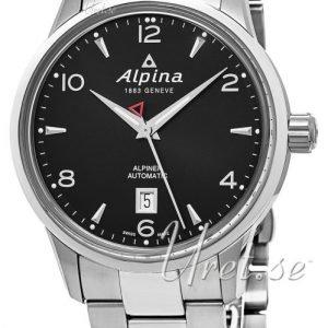Alpina Alpiner Al-525b4e6b Kello Musta / Teräs