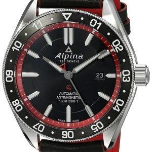 Alpina Alpiner Al-525br5aq6 Kello Musta / Nahka