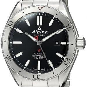 Alpina Alpiner Al-525bs5aq6b Kello Musta / Teräs