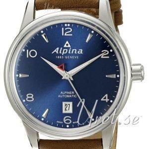 Alpina Alpiner Al-525n4e6 Kello Sininen / Nahka