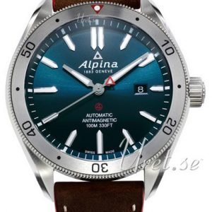 Alpina Alpiner Al-525ns5aq6 Kello Sininen / Nahka