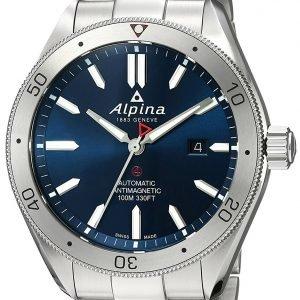 Alpina Alpiner Al-525ns5aq6b Kello Sininen / Teräs