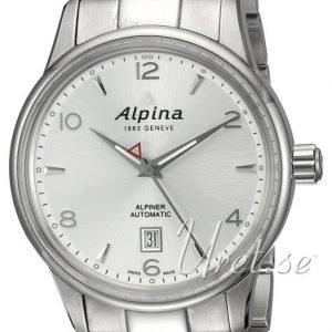 Alpina Alpiner Al-525s4e6b Kello Hopea / Teräs