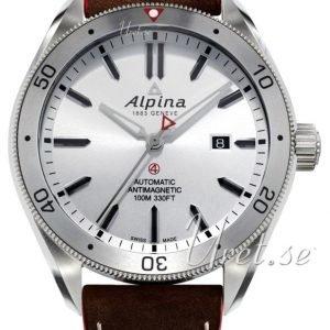 Alpina Alpiner Al-525ss5aq6 Kello Hopea / Nahka