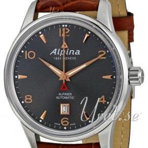 Alpina Alpiner Al-525vg4e6 Kello Harmaa / Nahka