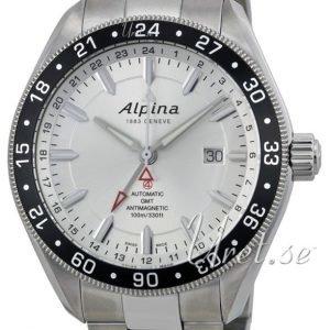 Alpina Alpiner Al-550s5aq6b Kello Hopea / Teräs