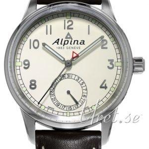 Alpina Alpiner Al-710km4e6 Kello Valkoinen / Nahka
