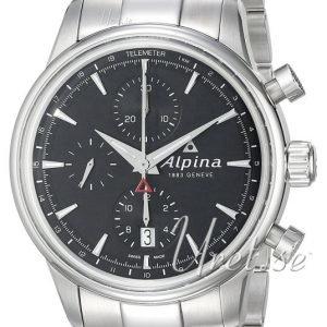 Alpina Alpiner Al-750b4e6b Kello Musta / Teräs