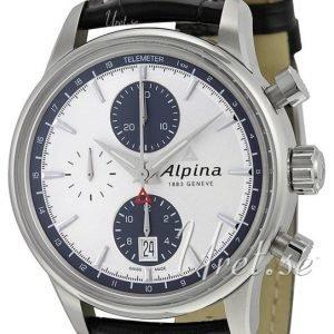 Alpina Alpiner Al-750sg4e6 Kello Hopea / Nahka