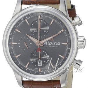 Alpina Alpiner Al-750vg4e6 Kello Harmaa / Nahka