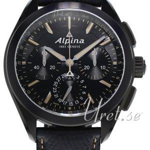 Alpina Alpiner Al-760bbg5fbaq6 Kello Musta / Nahka