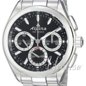 Alpina Alpiner Al-760bs5aq6b Kello Musta / Teräs