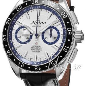 Alpina Alpiner Al-860ad5aq6 Kello Hopea / Nahka
