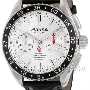 Alpina Alpiner Al-860s5aq6 Kello Hopea / Nahka