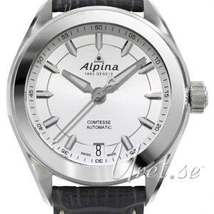 Alpina Comtesse Al-525sf2c6 Kello Hopea / Nahka