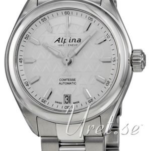 Alpina Comtesse Al-525st2c6b Kello Valkoinen / Teräs