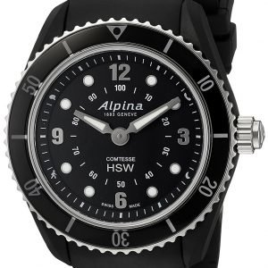 Alpina Horological Smartwatch Al-281bs3v6 Kello Musta / Kumi
