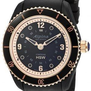 Alpina Horological Smartwatch Al-281by3v4 Kello Musta / Kumi