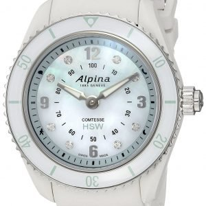 Alpina Horological Smartwatch Al-281mpwnd3v6 Kello Hopea / Kumi