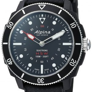 Alpina Horological Smartwatch Al-282lbb4v6 Kello Musta / Kumi