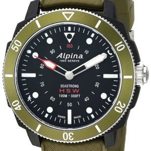 Alpina Horological Smartwatch Al-282lbgr4v6 Kello Musta / Kumi