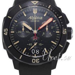 Alpina Seastrong Al-372lbbg4fbv6 Kello Musta / Kumi