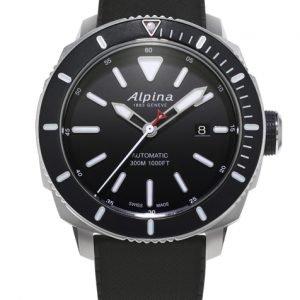 Alpina Seastrong Al-525lbg4v6 Kello Musta / Kumi