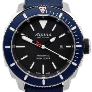 Alpina Seastrong Al-525lbn4v6 Kello Musta / Kumi