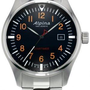 Alpina Startimer Al-240n4s6b Kello Sininen / Teräs