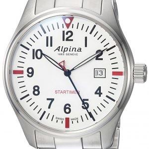Alpina Startimer Al-240s4s6b Kello Valkoinen / Teräs