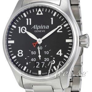 Alpina Startimer Al-280b4s6b Kello Musta / Teräs